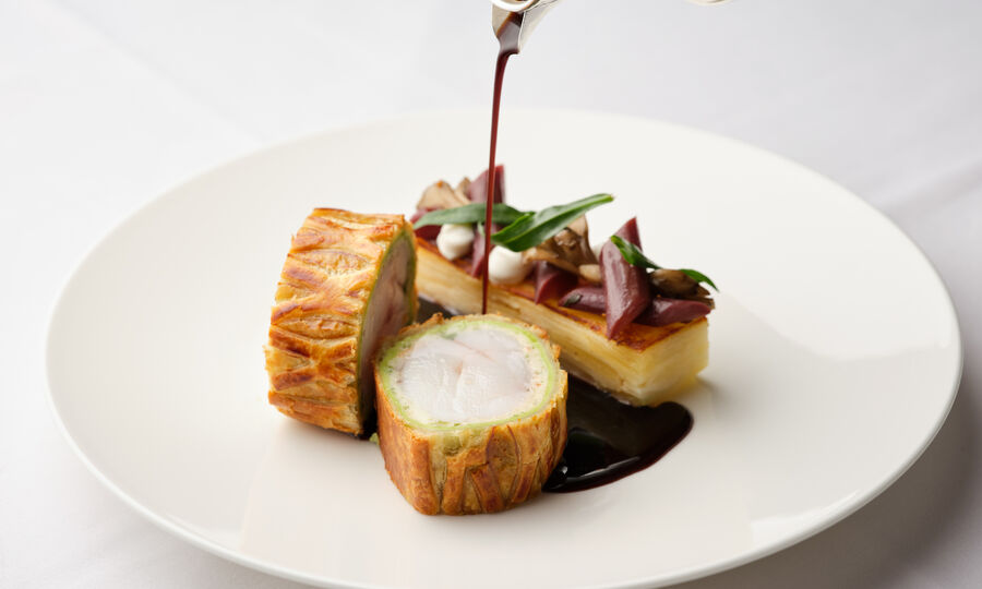 The Colony Grill Room Monkfish Wellington