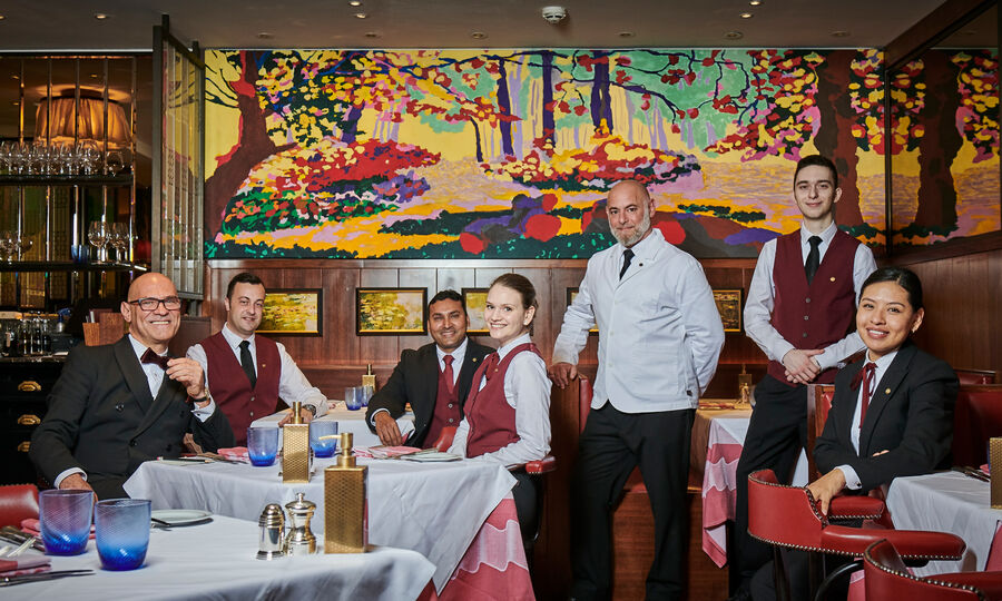 The Colony Grill Room Team Members