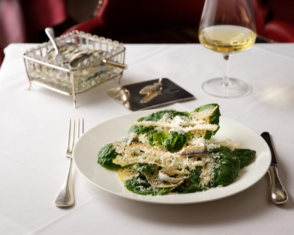 The Colony Grill Room Caesar Salad