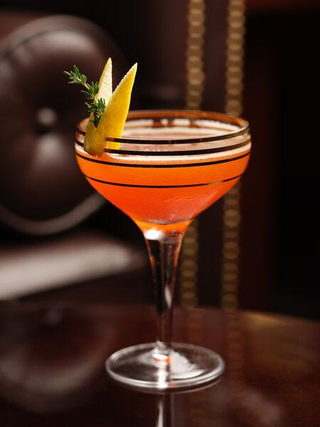 Le Magritte Bar Paper Plane Cocktail