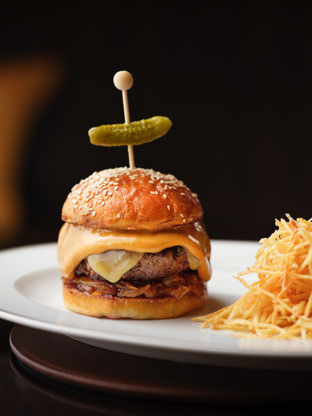 The Beaumont Cheese Burger