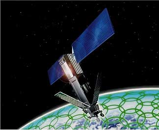 Iridium Communications plans to launch the 72 satellites of the Iridium Next constellation atop eight Falcon 9 rockets. Image Credit: Iridium Communications