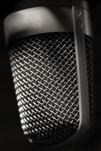 Microphone. Image By Jpcuevas (Own work) [CC BY 3.0 (http://creativecommons.org/licenses/by/3.0)], via Wikimedia Commons