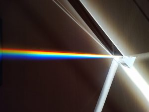 optical glass triangular prism