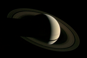 Saturn's Rings, as seen by Voyager 1