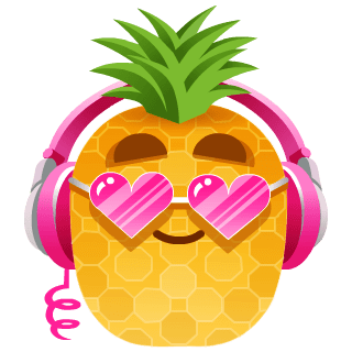 Pineapple (pink)