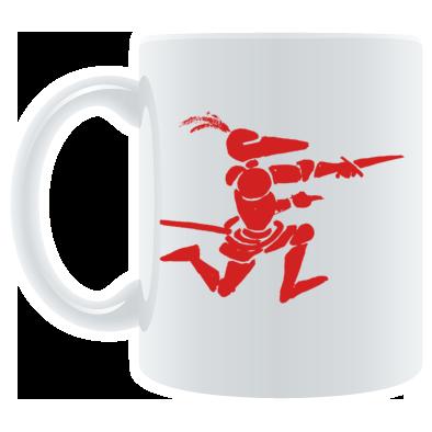 Running Knight Mug