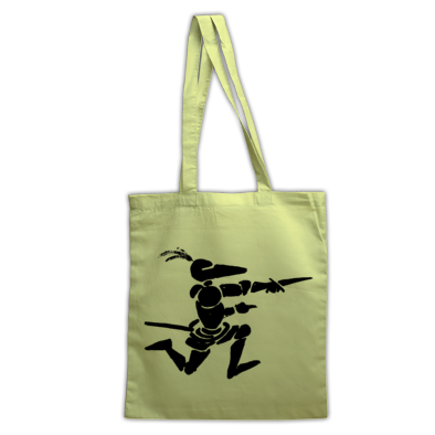 Running Knight Tote Bag