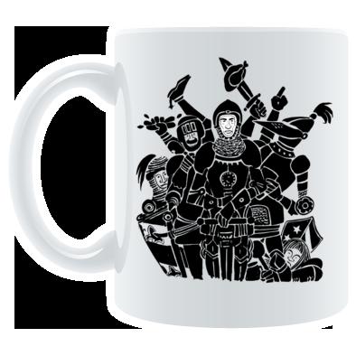 Knights Only Mug