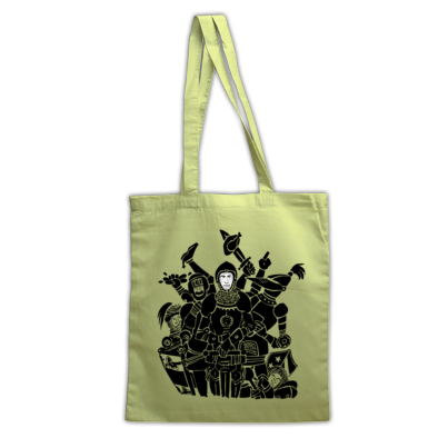 Knights Only Tote Bag