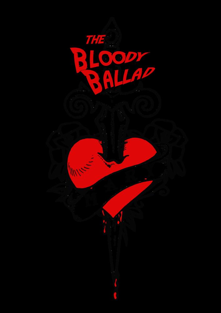 Bloody Ballad Ladies T-shirt>