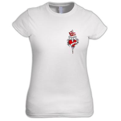 Bloody Ballad Ladies T-shirt