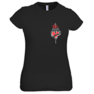 Bloody Ballad Black Ladies T-shirt