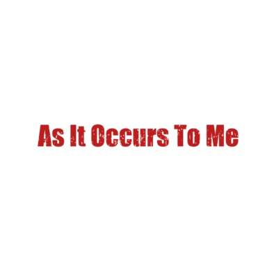 AS IT OCCURS TO ME LOGO