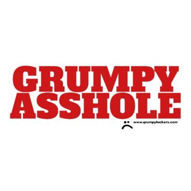 Grumpy Asshole cap