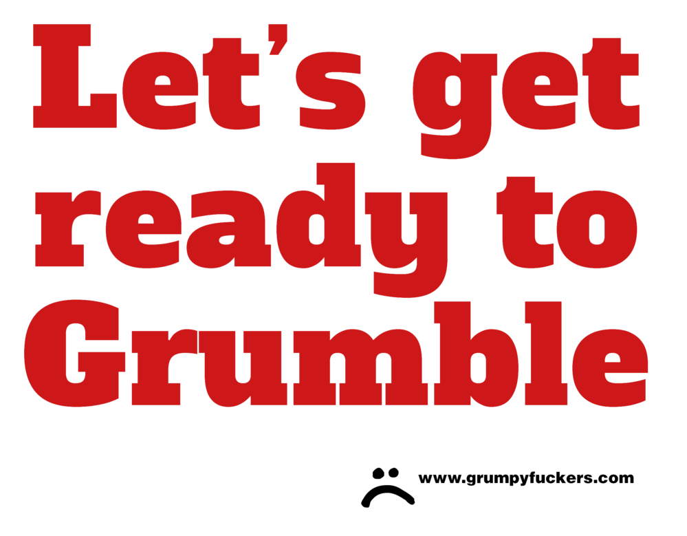 Let's Get Ready to Grumble>
