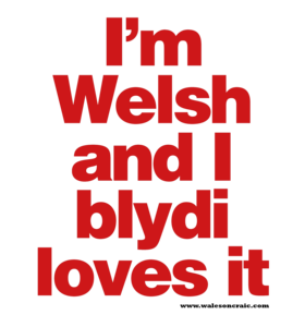 I'm Welsh and I Blydi Loves It
