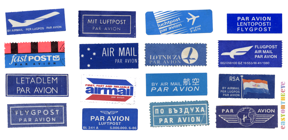 Easy On The Eye AIRMAIL F>
