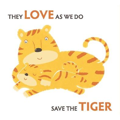 Save the Tiger mug>