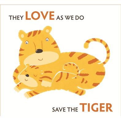 Women's T-shirt Save the Tiger big logo>