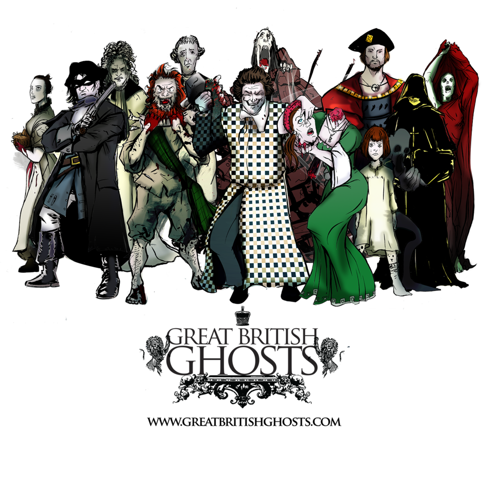 Official 12 Ghosts of Christmas : Great British Ghosts.com>