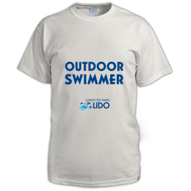 Outdoor swimmer with logo mens