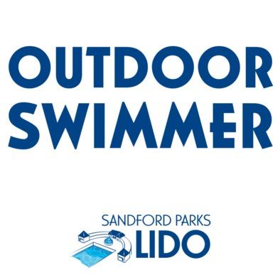 Outdoor swimmer with logo mug