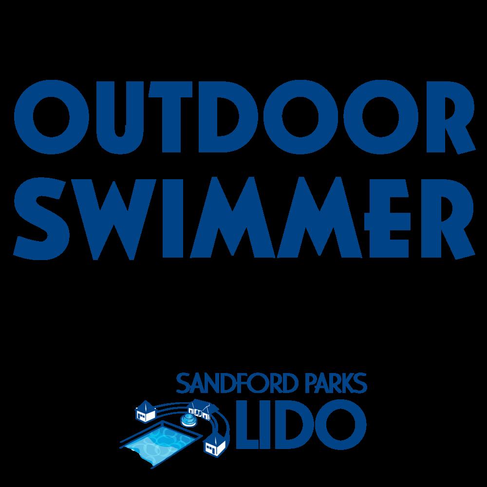 Outdoor swimmer with logo mug>