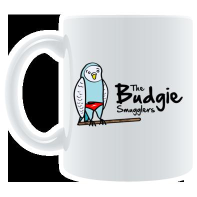 The Budgie Smugglers - Colour logo mug