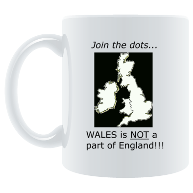 Wales is not a part of England!!!