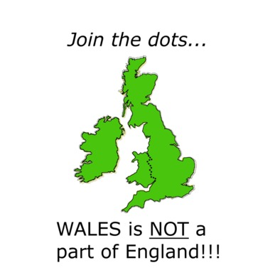 Wales is not a part of England!!!>