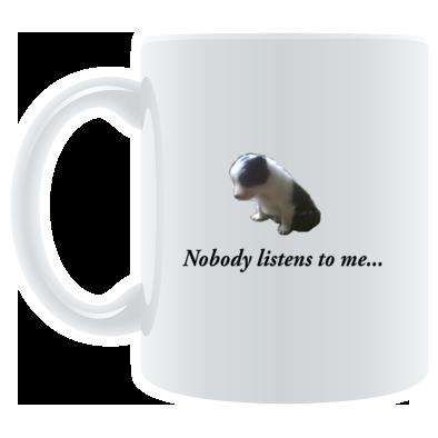 No one listens to me...