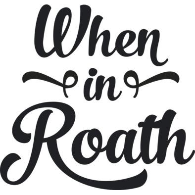 When in Roath (Black Logo)