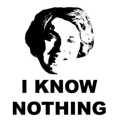 I Know Nothing Alternative - Men's T-Shirt>