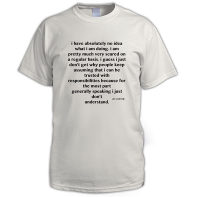 What Am I Doing - Men's T-Shirt