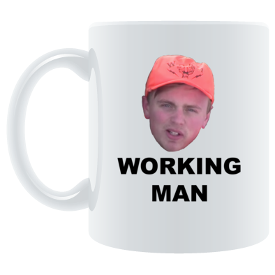 Working Man Mug