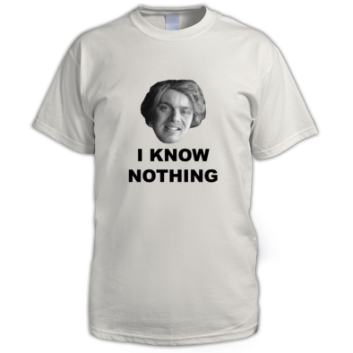 I Know Nothing - Men's T-Shirt