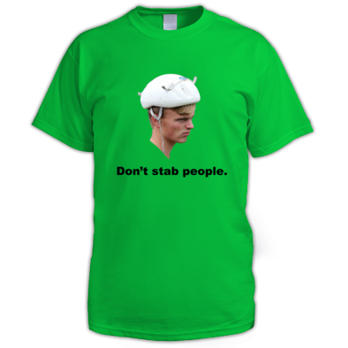 Don't Stab People - Men's T-Shirt