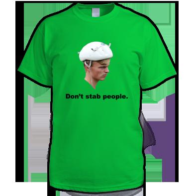 Don't Stab People - Men's T-Shirt