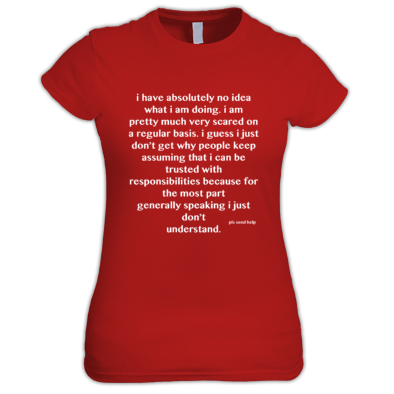 What Am I Doing - Women's T-Shirt