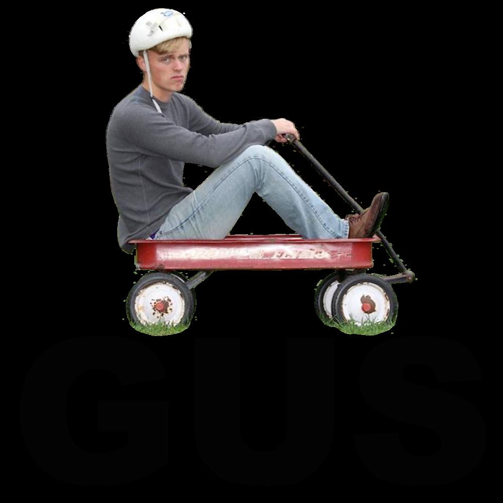 Gus Wagon - Men's T-Shirt>