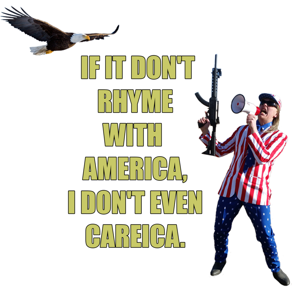 America Careica - Women's T-Shirt>