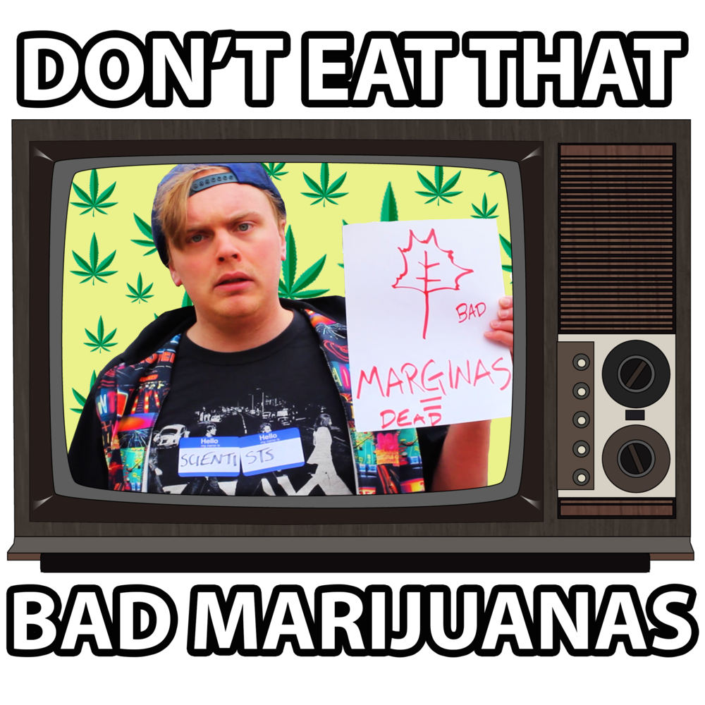 Bad Marijuanas - Men's T-Shirt>