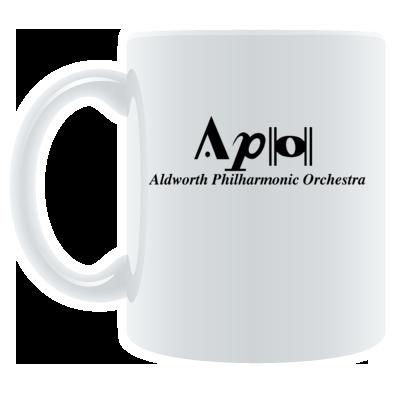 APO mug (logo and name)