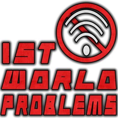 First World Problems Mug