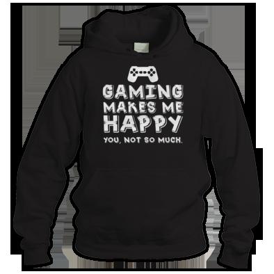 Gaming Happy Hoodie