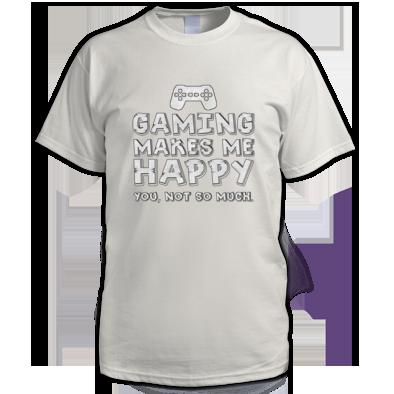 Gaming Happy Mens