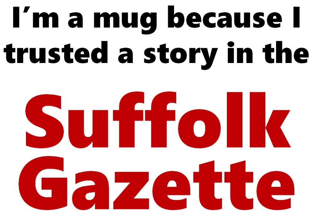 I'm a mug>