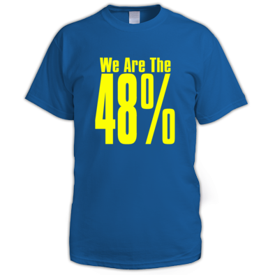 We Are The 48% Mens T-Shirt