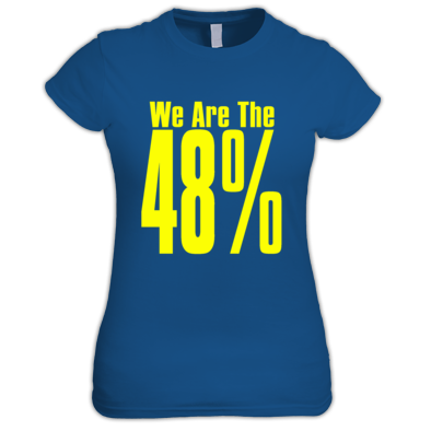 We Are The 48% Womens T-Shirt
